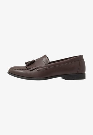 LARRY TASSEL LOAFER - Eleganckie buty - dark brown