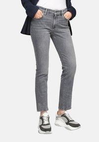 s.Oliver - Slim fit jeans - grey stret - 0