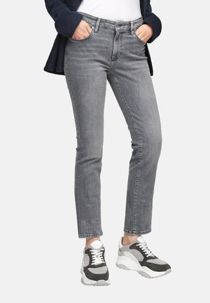 Slim fit jeans - grey stret