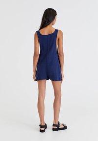 PULL&BEAR - MIT TASCHEN - Jumpsuit - light blue - 2
