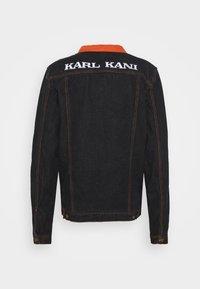 Karl Kani - TRUCKER - Džínová bunda - black - 1