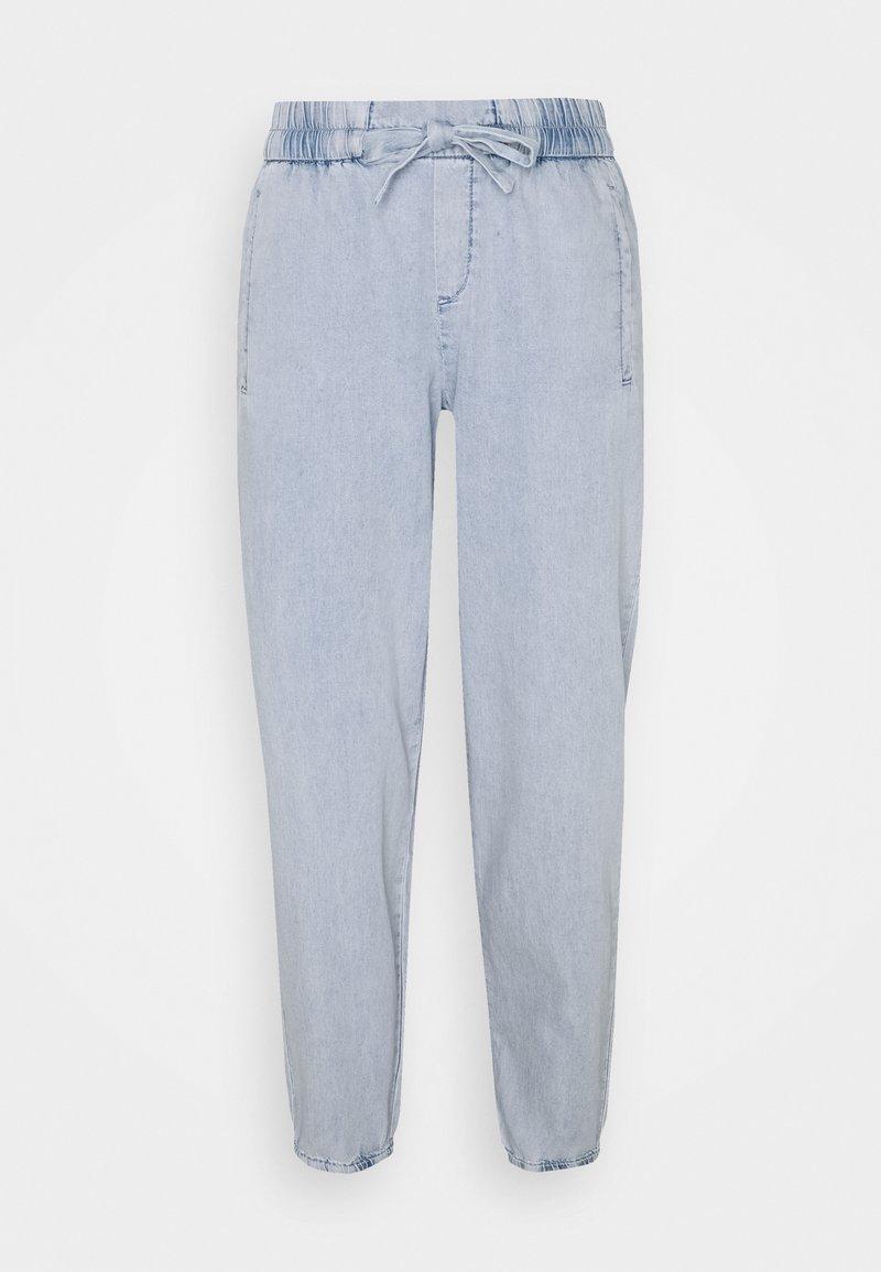 comma - Trousers - light blue