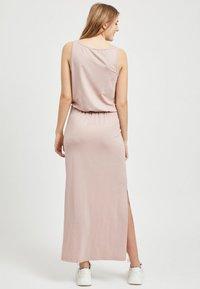 Object - OBJSTEPHANIE MAXI DRESS  - Maxi dress - rose - 2