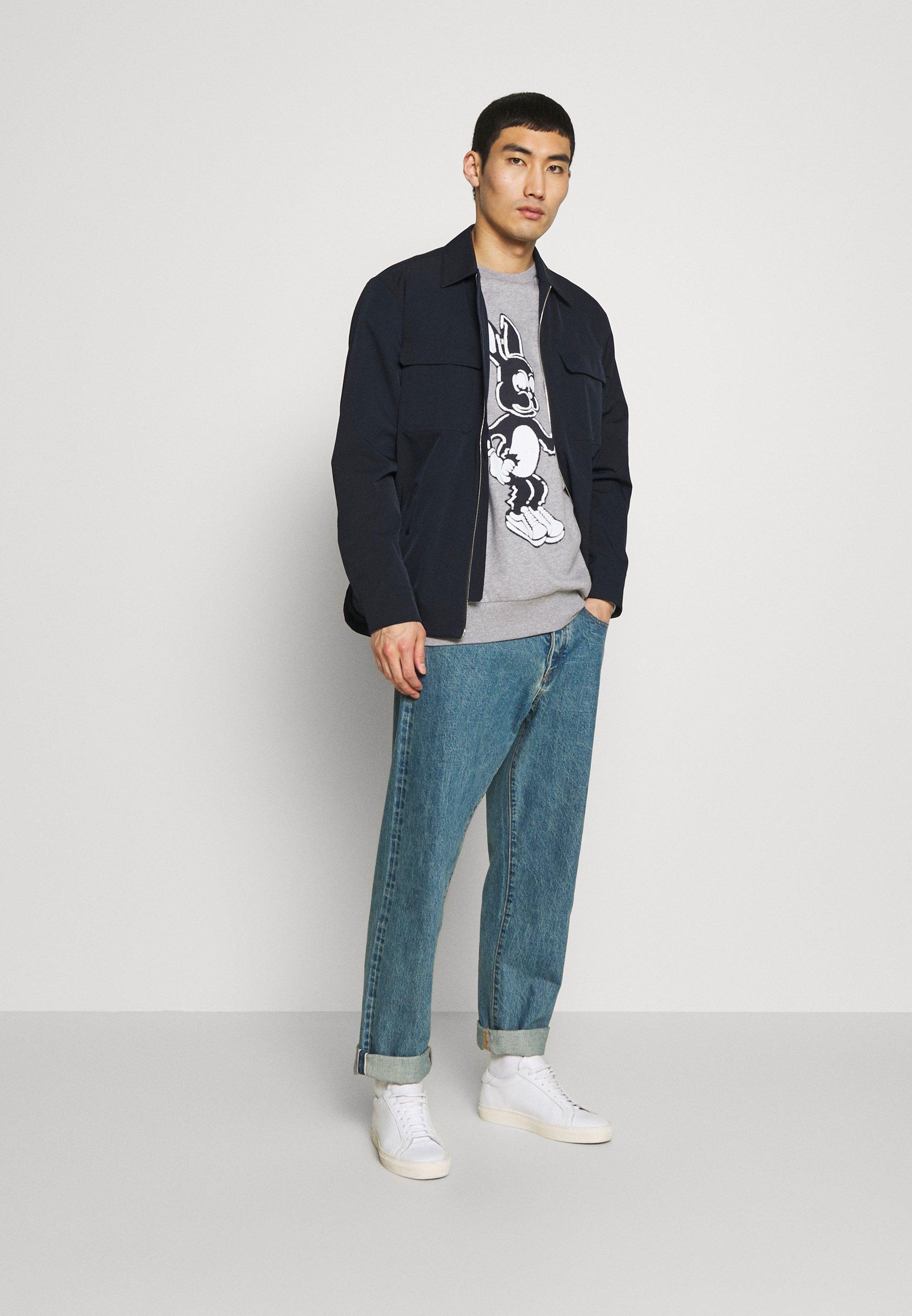 Paul Smith GENTS BUNNY PRINT  - Sweatshirt - grey