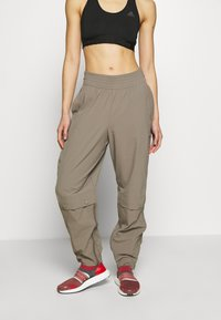 adidas by Stella McCartney - Outdoor trousers - brown - 0