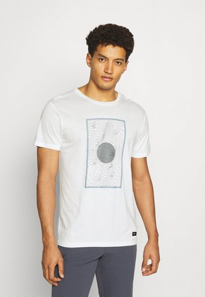 ABSECON - T-shirt print - optic white