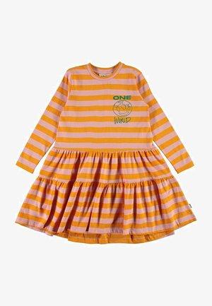 CHIA - Day dress - citrus stripe
