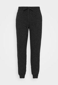 Vero Moda Curve - VMVELAN PANT  - Tracksuit bottoms - dark grey - 3