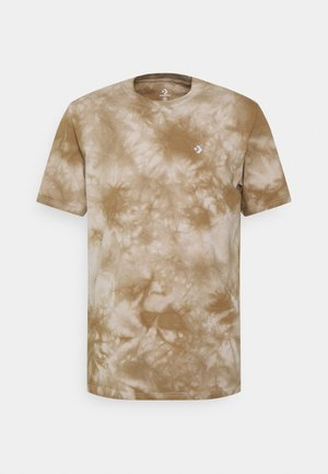 MARBLE CUT AND SEW TEE - Print T-shirt - string