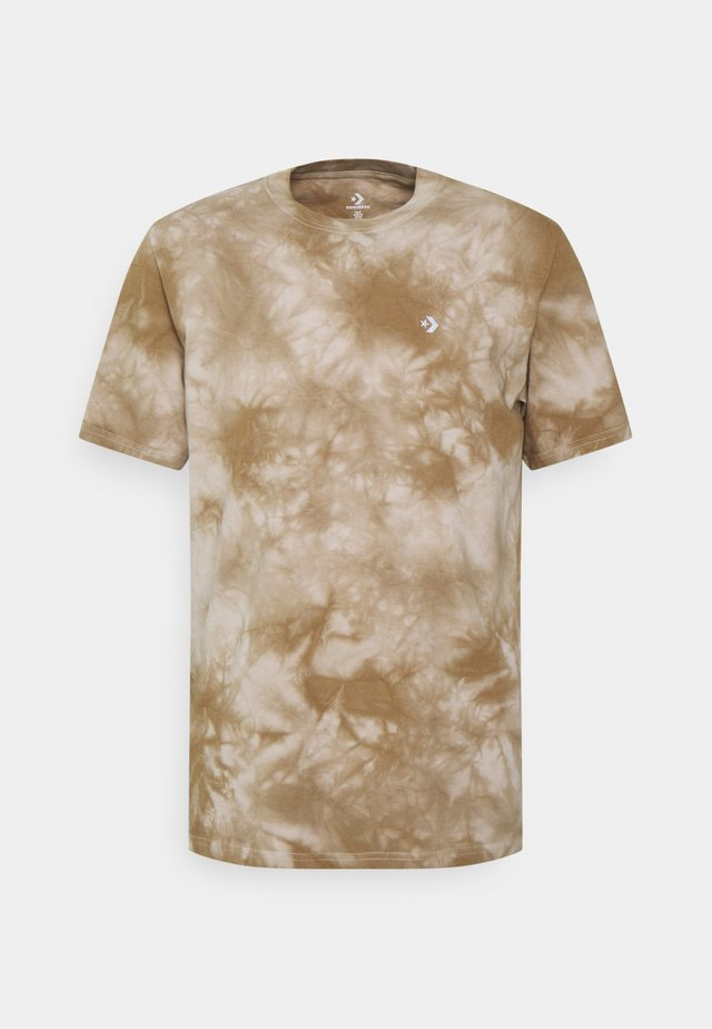 MARBLE CUT AND SEW TEE - T-shirt print - string