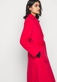 HUGO - MESUA - Zimní kabát - open pink - 4