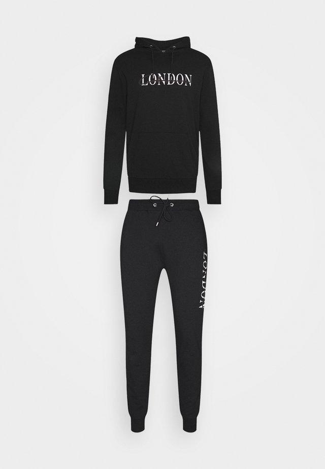 BASE LOGO TRACKSUIT - Sweater - black