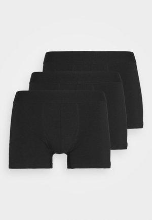TRUNKS 3 PACK - Underkläder - black