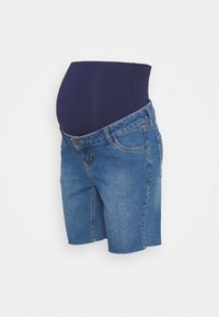MAIAMAE - LONGER BOY  - Szorty jeansowe - blue - 0