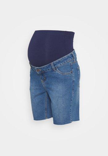 LONGER BOY  - Denim shorts - blue