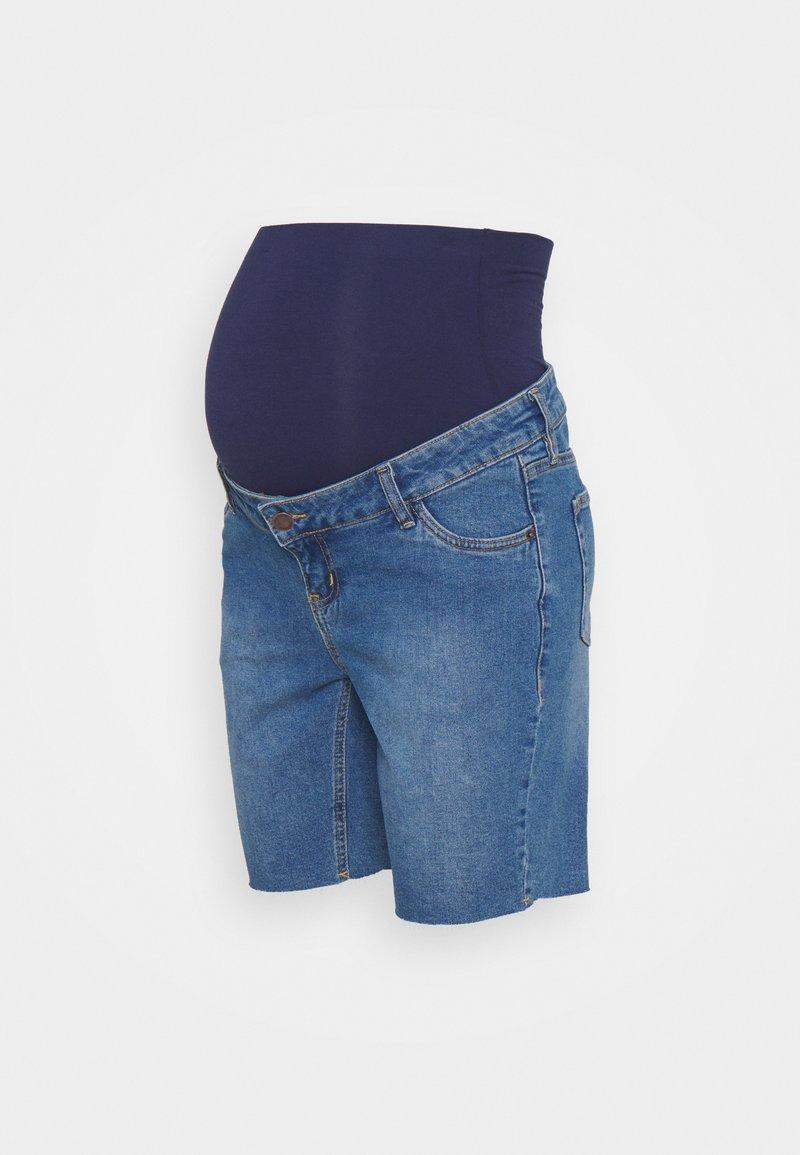 MAIAMAE - LONGER BOY  - Szorty jeansowe - blue
