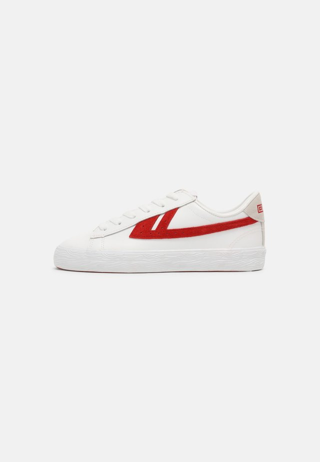 DIME UNISEX - Sneakers laag - white/red