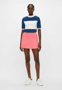 J.LINDEBERG - Pleated skirt - tropical coral - 1