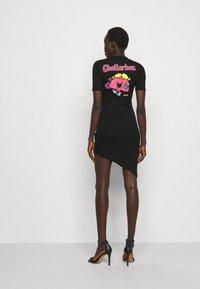 GCDS - ELEMENTS DRESS - Jersey dress - black - 2