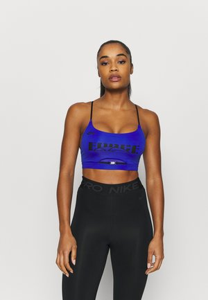 SISTERHOOD - Sujetador deportivo - hyper royal/black