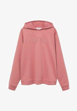 Hoodie - roze