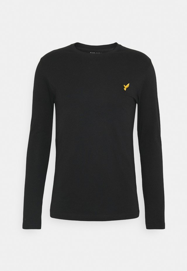 Maglietta a manica lunga - black