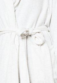 Anna Field - KNITTED BATHROBE - Accappatoio - mottled light grey - 3