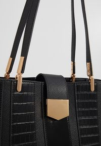 Dorothy Perkins - PANELLED COMPARTMENT TOTE - Tote bag - black - 2