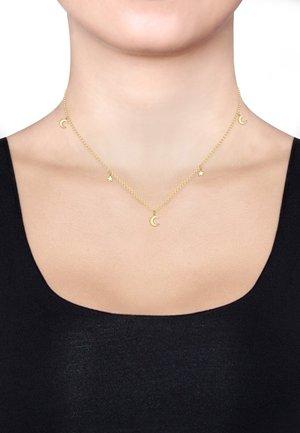 STAR ASTRO HALF MOON - Necklace - gold-coloured