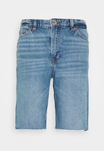 Jeansshorts - blue medium dusty
