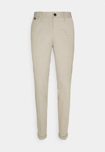 JJIMARCO JOHN MELANGENOR - Spodnie materiałowe - beige
