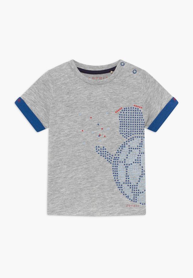 T-SHIRT SS BABY - T-shirt print - heather silver