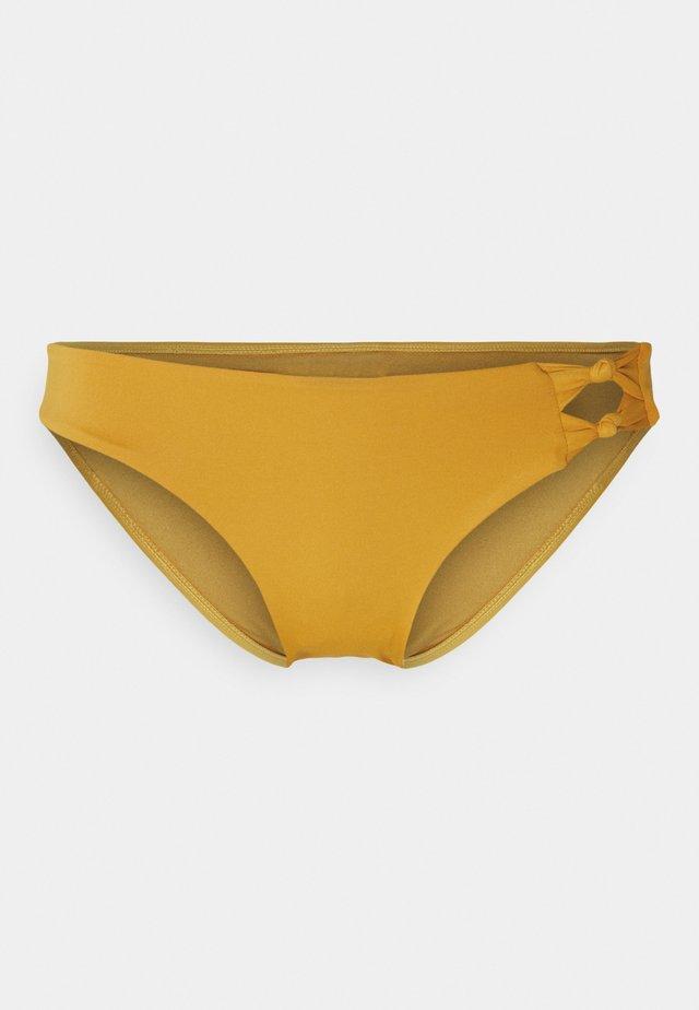 HIPSTER BRIEF - Spodní díl bikin - mustard