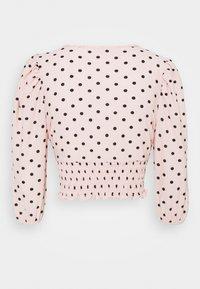Miss Selfridge Petite - SHIRRED HEM - Blůza - pink - 1