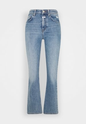 BAYLIN - Flared Jeans - mid blue