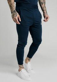 SIKSILK - AGILITY TRACK PANTS - Pantaloni sportivi - navy - 4
