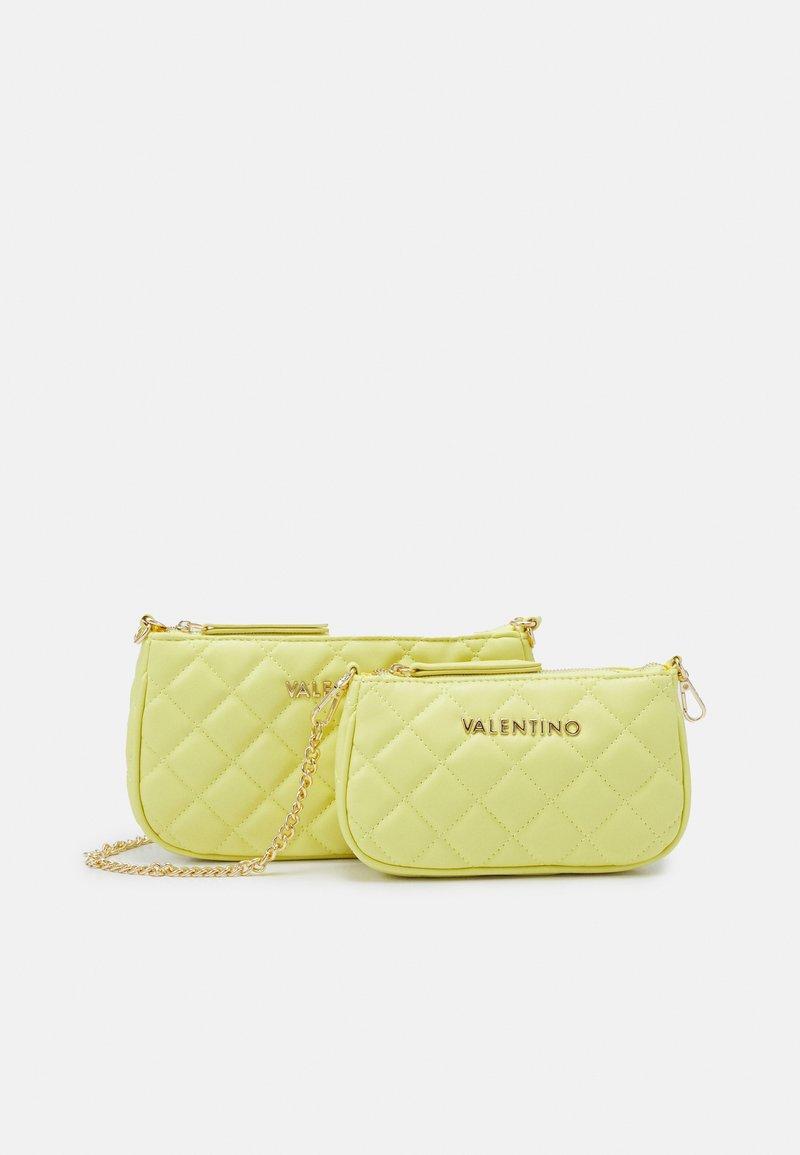 Valentino Bags - OCARINA SET - Across body bag - giallo