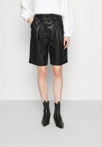 Noisy May - NMDUST MILLA - Shorts - black - 0