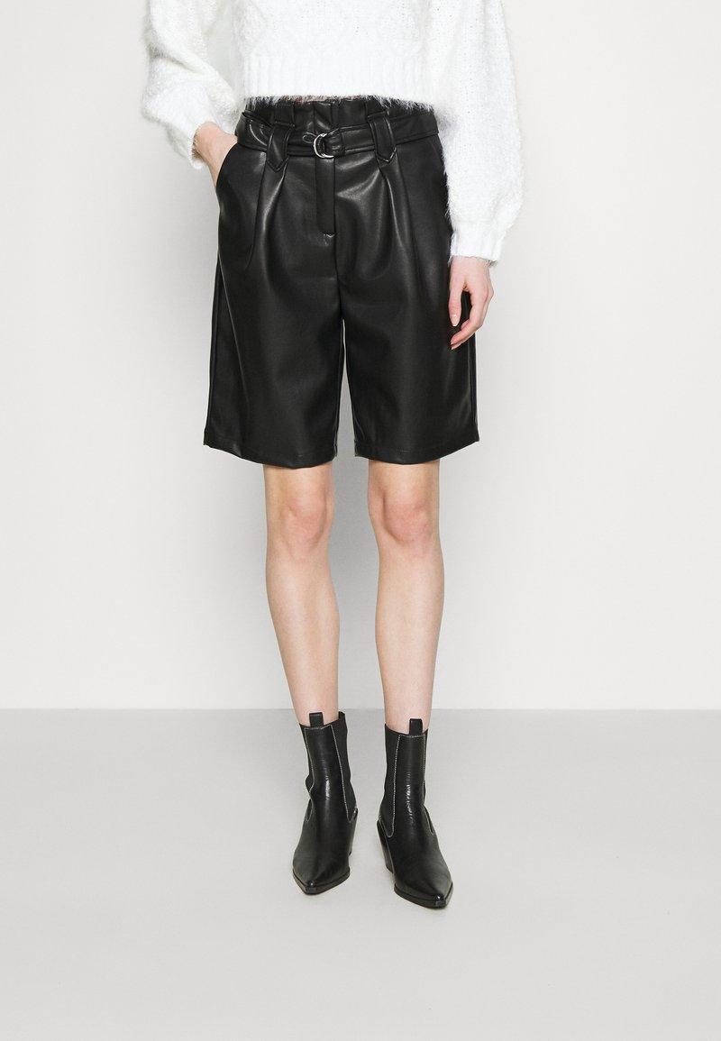 Noisy May - NMDUST MILLA - Shorts - black