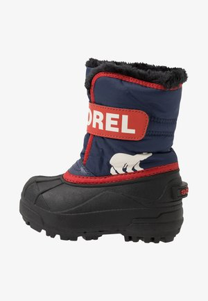CHILDRENS - Snowboot/Winterstiefel - nocturnal/sail red