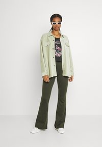Nly by Nelly - OVERSIZED SHACKET - Blouse - pistachio - 1