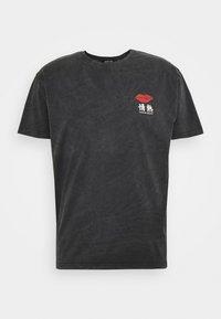 LIPS UNISEX - Print T-shirt - dark grey