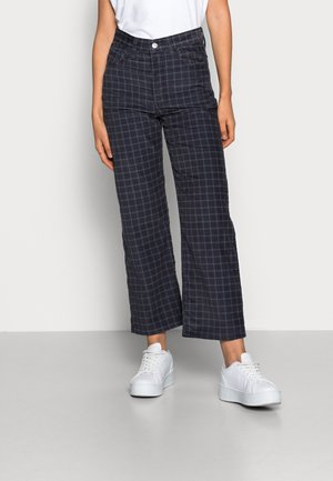 RIBCAGE STRAIGHT ANKLE - Trousers - luxe bethany