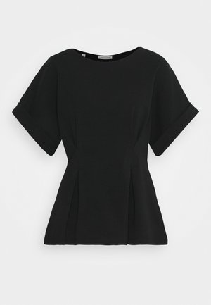 SLFCLEO TEE - Basic T-shirt - black