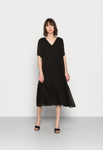 SLFSINA MIDI DRESS - Day dress - black