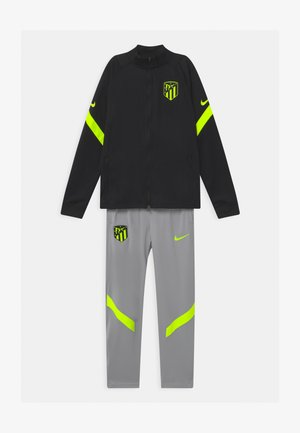 ATLETICO MADRID SET UNISEX - Club wear - black/wolf grey/volt