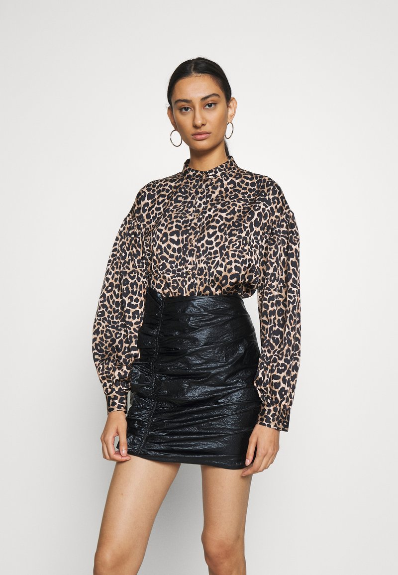 Cras - LANICRAS - Koszula - brown leo