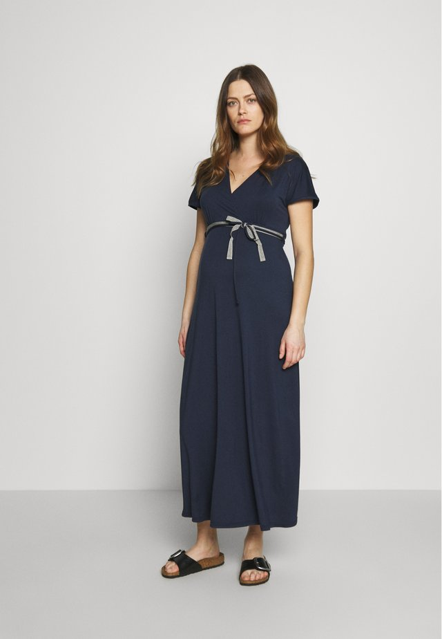 NURSING DRESS - Maxiklänning - navy