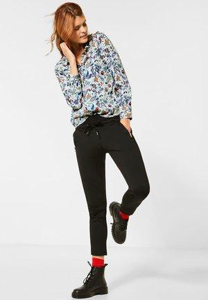 MIT PAISLEY - Button-down blouse - weiß
