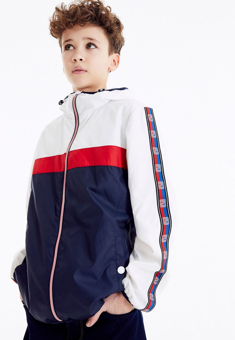 Next - Waterproof jacket - White, Red, Blue